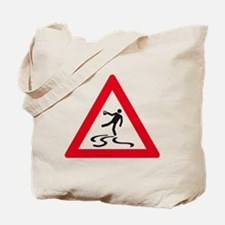 attention drunk Tote Bag