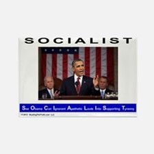SOCIALIST - The Obama Path - Rectangle Magnet