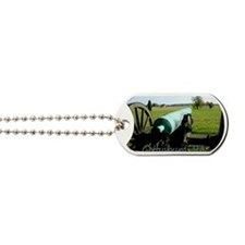 Canon on Battlefield, Gettysburg PA Magne Dog Tags