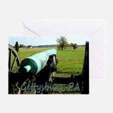 Canon on Battlefield, Gettysburg, PA Greeting Card