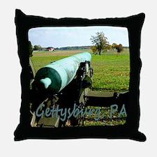 Canon on Battlefield, Gettysburg, PA  Throw Pillow