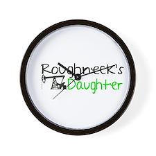 Roughnecks Daughter Wall Clock