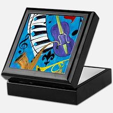Jazz Music art Keepsake Box