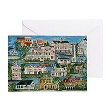 Cape May - Victorian houses Greeting Card