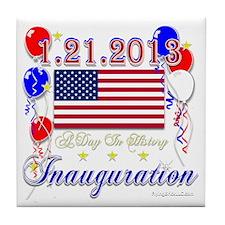 1-21-2013 Inauguration Tile Coaster
