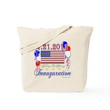 1-21-2013 Inauguration Tote Bag