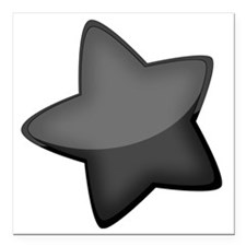 "Star Square Car Magnet 3"" x 3"""