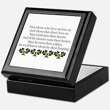 Irish Blessing? Keepsake Box