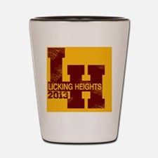 Licking Heights 2013 Shot Glass