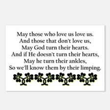 Irish Blessing? Postcards (Package of 8)