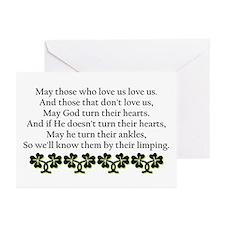 Irish Blessing? Greeting Cards (Pk of 10)