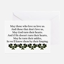 Irish Blessing? Greeting Cards (Pk of 10)