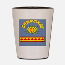 CHEROKEE INDIAN Shot Glass