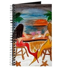 Martini Mermaids art Journal