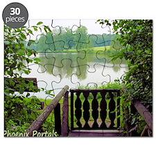 Greeting Card, German Lake near Bamburg Puzzle