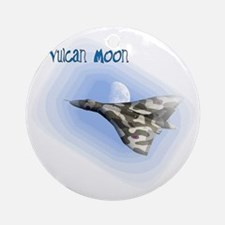 Vulcan Moon Round Ornament
