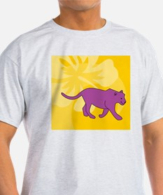 Panther Beer Label T-Shirt