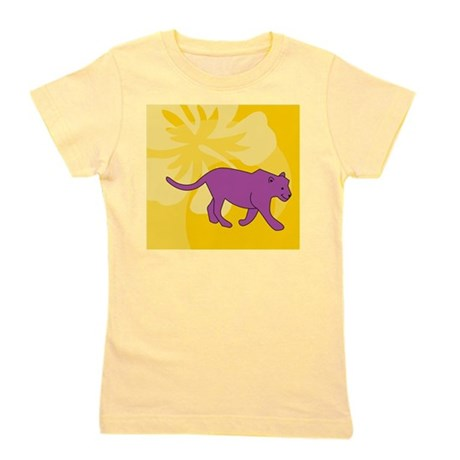 Panther Beer Label Girl's Tee
