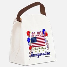 1-21-2013 Inauguration Canvas Lunch Bag