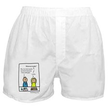 Wanna trade? Boxer Shorts
