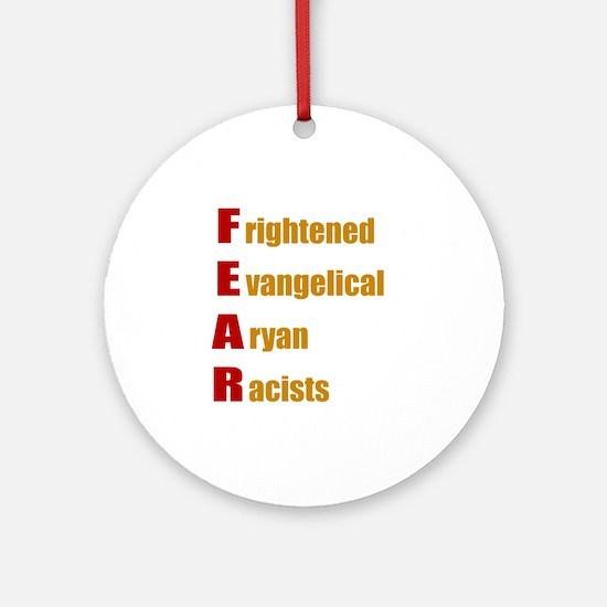 F.E.A.R. Round Ornament
