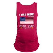 I Was There Obama Biden 2013 In Maternity Tank Top