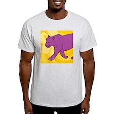 Panther Round Car Magnet T-Shirt