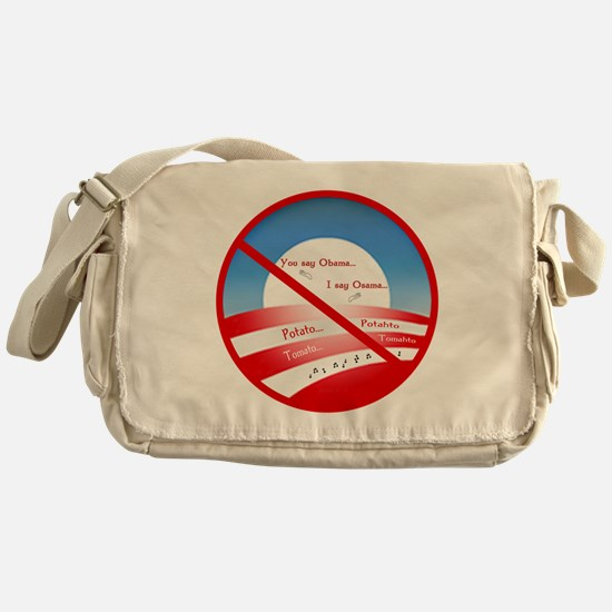 You Say Obama... Messenger Bag