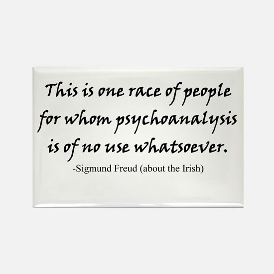 Freud and the Irish Rectangle Magnet