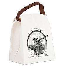 Keep Skeeting Canvas Lunch Bag