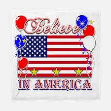 Believe In America Queen Duvet