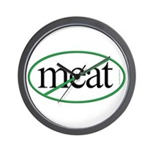 Vegetarian Wall Clock