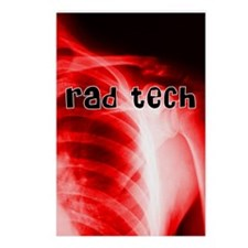 rad tech electronic skins Postcards (Package of 8)