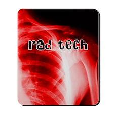 rad tech electronic skins Mousepad