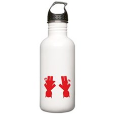 bad boy and girl Water Bottle