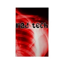 rad tech electronic skins Rectangle Magnet