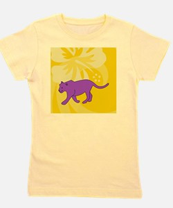 Panther Square Coaster Girl's Tee