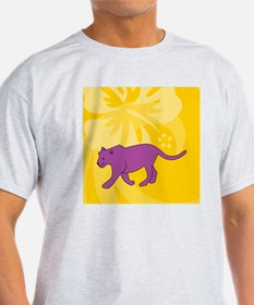 Panther Square Coaster T-Shirt