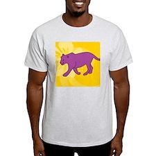 Panther Round Coaster T-Shirt