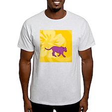 Panther Square Car Magnet 3 x 3 T-Shirt