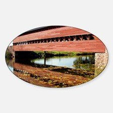 Post Card - Autumn at Sachs Bridge Decal