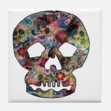 Day of the dead Tile Coaster