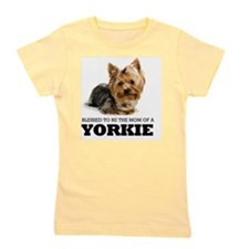 Blessed YORKIE MOM Girl's Tee