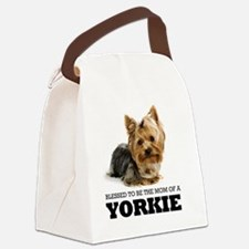 Blessed YORKIE MOM Canvas Lunch Bag
