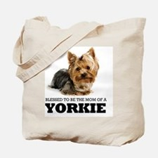Blessed YORKIE MOM Tote Bag