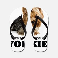 Blessed YORKIE MOM Flip Flops