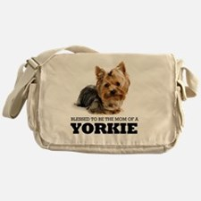 Blessed YORKIE MOM Messenger Bag