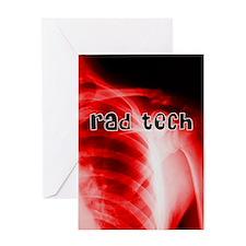 rad tech electronic skins Greeting Card