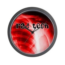 rad tech electronic skins Wall Clock
