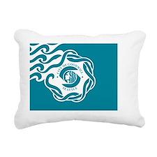 Seattle Flag Rectangular Canvas Pillow